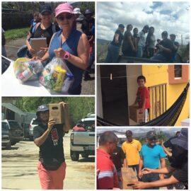 Entrega de Suministros  en Utuado despues del huracan María 2017  Bo. Villarena Utuado PR