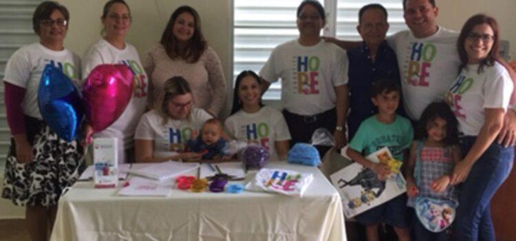Parte  del Equipo de Trabajo  Fundación HOPE